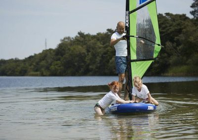 Stand Up Paddling Board von Boat4All Berlin in Action