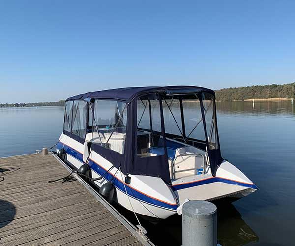 Bayliner Boot von Boat4All Berlin Rückansicht