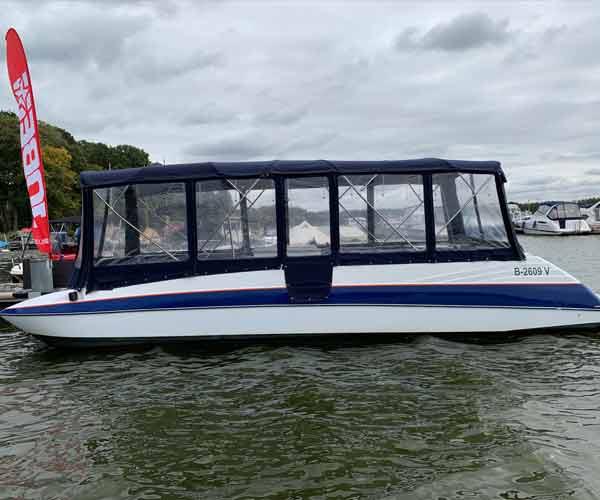 Bayliner Boot von Boat4All Berlin Seitenansicht