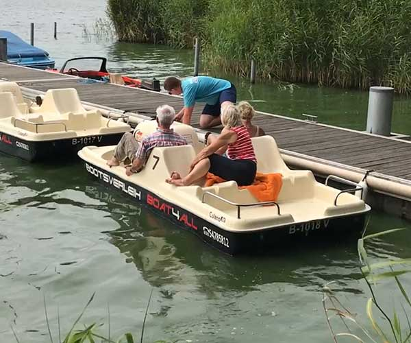 Colano5 Boot von Boat4All Berlin in Action