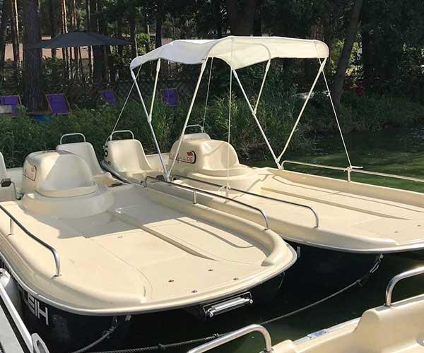Colano XL Boot von Boat4All Berlin mit und ohne Verdeck