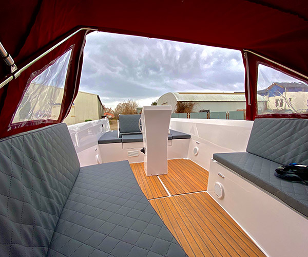 Sloep Namare Boot von Boat4All Berlin Innenansicht 3