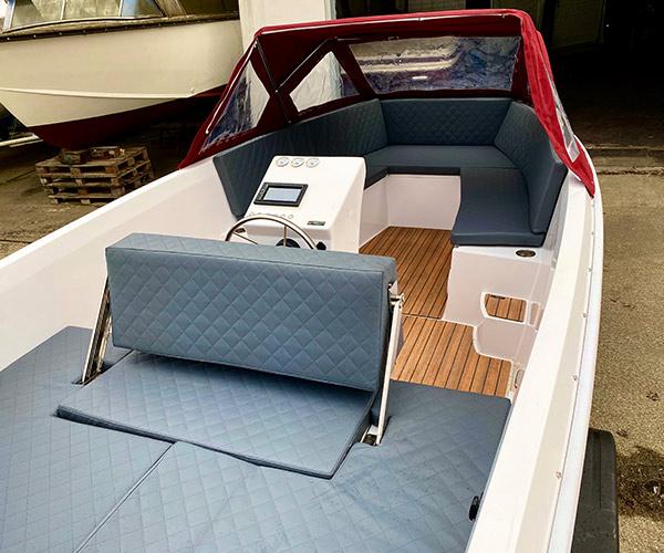 Sloep Namare Boot von Boat4All Berlin Innenansicht 2