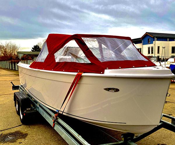 Sloep Namare Boot von Boat4All Berlin Außenansicht