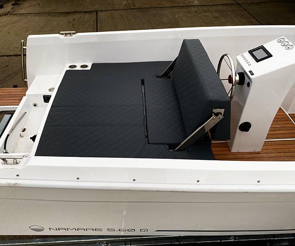 Sloep Namare Boot von Boat4All Berlin Innenansicht